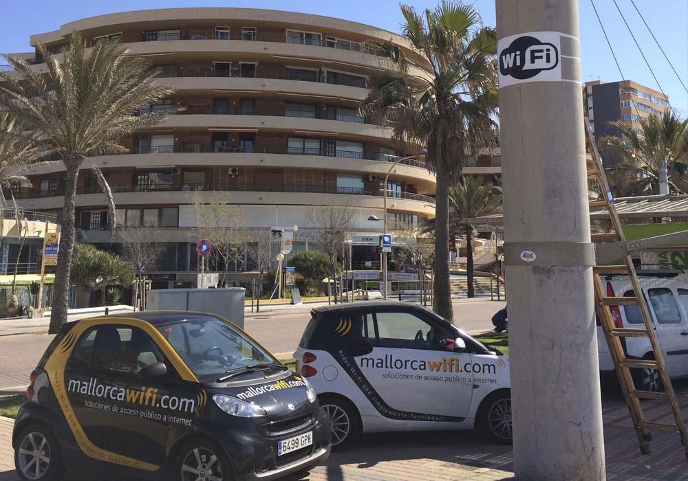 Instalación Playa de Palma