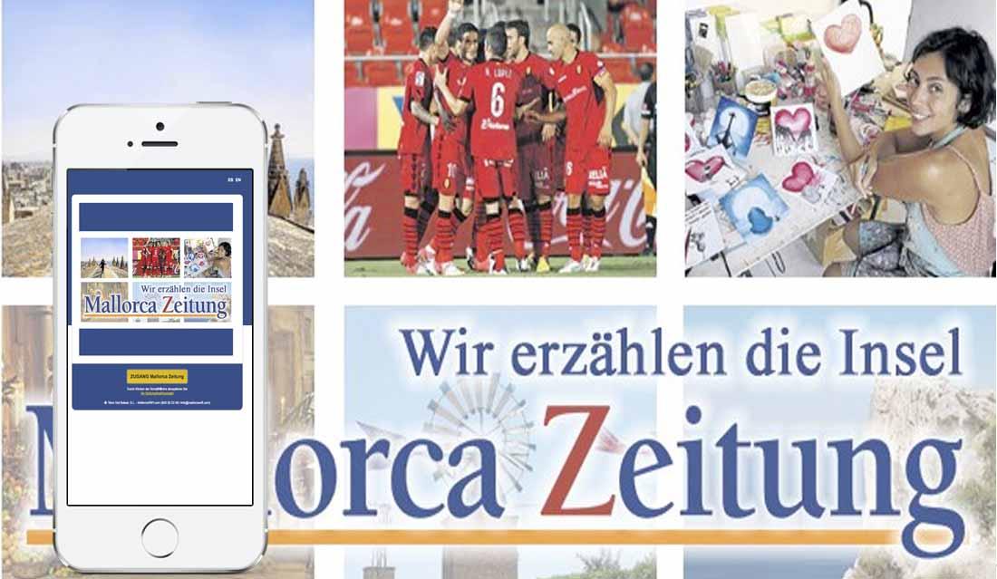 Landing Page Mallorca Zeitung